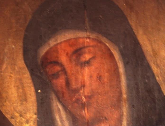 Εικόνα της Παναγίας «ανοιγοκλείνει» τα μάτια! Στην δημοσιότητα το βίντεο από την εκκλησία!