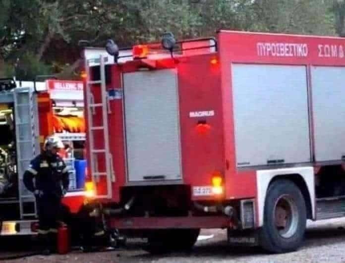 Ξέσπασε πυρκαγιά στην Λάρισα!