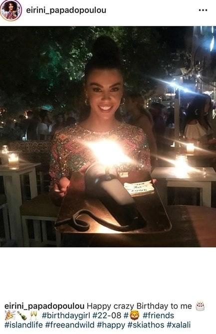 Ειρήνη Παπαδοπούλου: Έχει γενέθλια και το γιορτάζει με μια τούρτα υπερπαραγωγή! Πόσο χρονών έγινε;