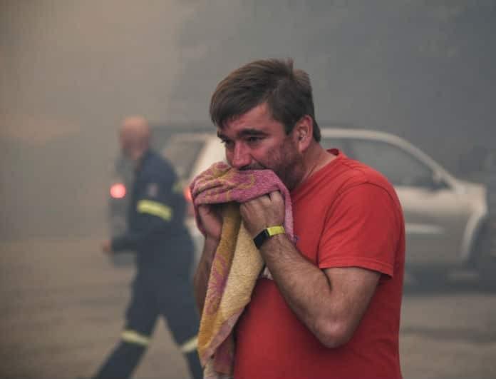 Φωτιά Εύβοια: Σε κατάσταση έκτακτης ανάγκης - Φλέγονται οικισμοί!