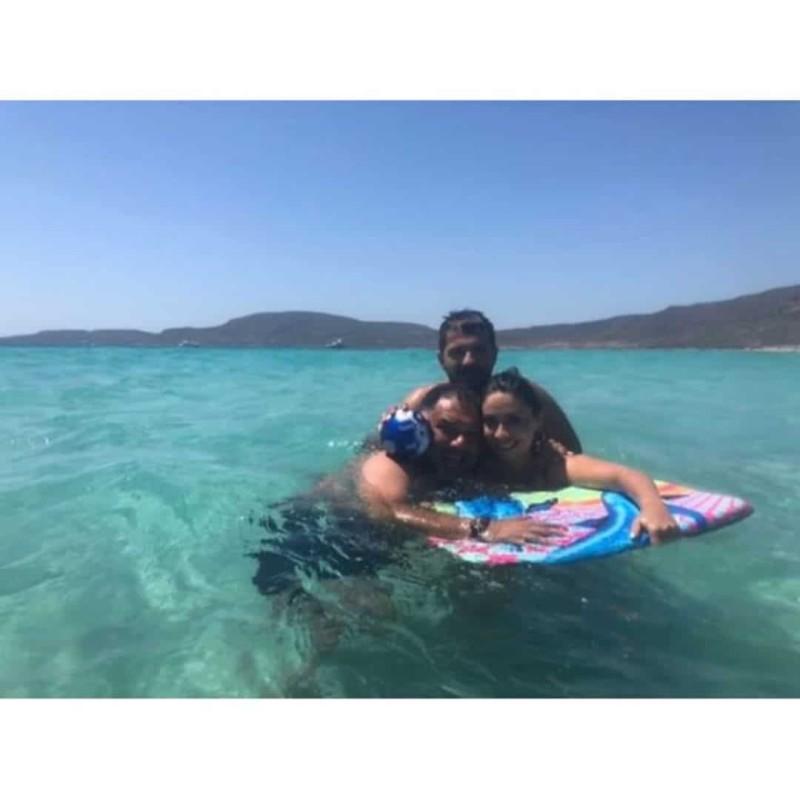 Γρηγόρης Αρναούτογλου - Νάνσυ Παπαντωνίου: Στιγμές ευτυχίας και χαλάρωσης για το ζευγάρι!