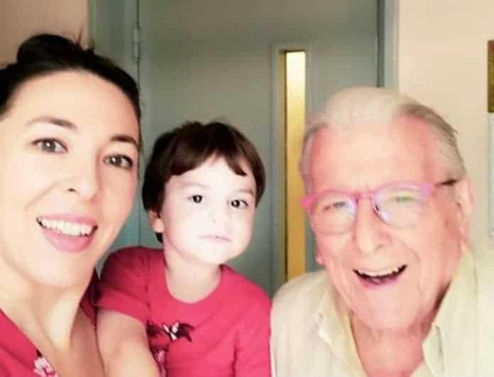 Αλίκη Κατσαβού: Η τρυφερή φωτογραφία με τον Κώστα Βουτσά και τον μικρό Φοίβο!