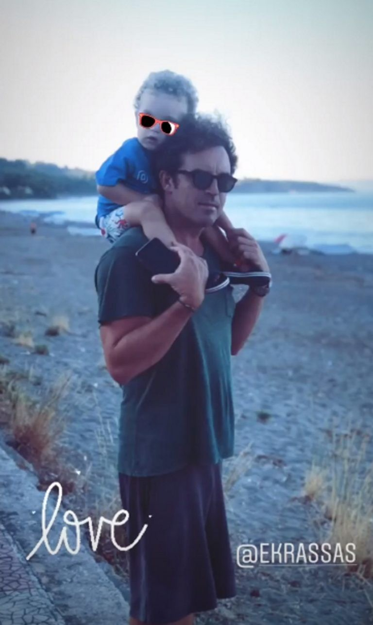 Βίκυ Καγιά σύζυγος παιδιά φωτογραφίες