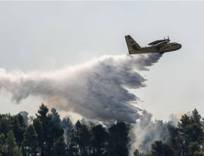 Φωτιά στην Σάμο: Επεκτείνεται η πυρκαγιά! Επιχειρούν καναντέρ και ελικόπτερα!