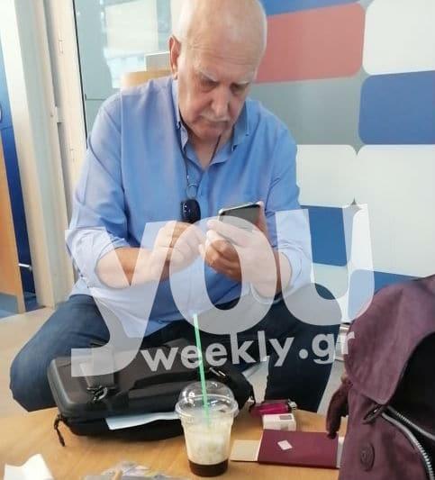 Γιώργος Παπαδάκης: Στο καράβι πιο χαλαρός από ποτέ με τη σύζυγό του! Αποκλειστικό!
