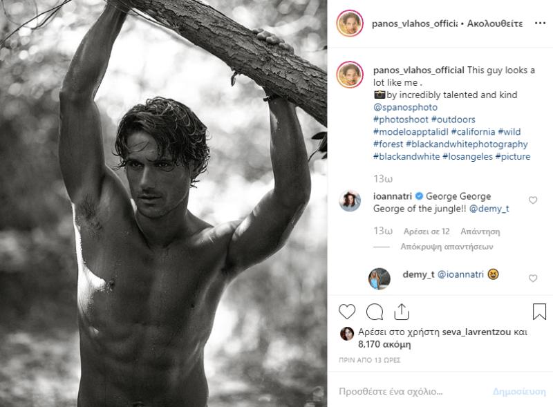 Πασίγνωστος Έλληνας ηθοποιός «αναστατώνει» το γυναικείο κοινό του με τους κοιλιακούς του!