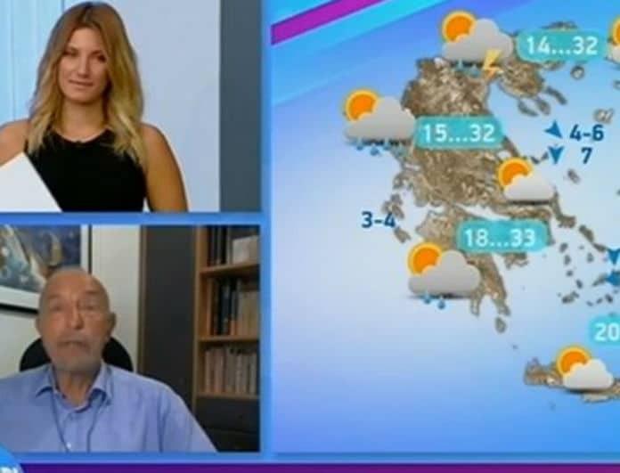 Τάσος Αρνιακός: Προειδοποιεί για τον καιρό! Έρχονται καταιγίδες! (Βίντεο)