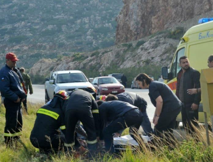 Αιματηρό τροχαίο στη Θεσσαλονίκη: Σύγκρουση ΙΧ με μοτοσυκλέτα