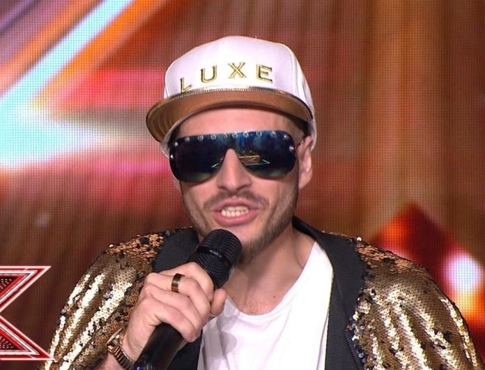 X-Factor: Ποιος Sin Boy; Ο ράπερ που άφησε