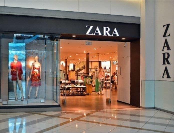 Zara - νέα συλλογή: Το μακρύ αυτό πουκάμισο δεν βγαίνει μόνο σε μαύρο! Έχει και μανίκια που φουσκώνουν...
