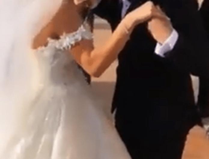 Γάμος αγαπημένου ζευγαριού της ελληνικής showbiz! Το λαμπερό νυφικό «μάγεψε» τους πάντες!