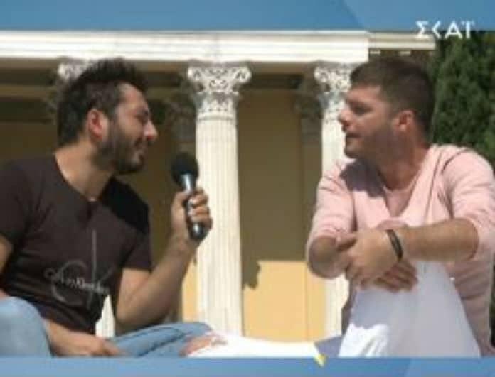 Λούκας Γιώρκας: Τον ρώτησαν για το γάμο της Έλενας Ράπτη και έμεινε