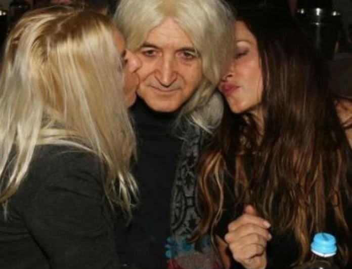 Νίκος Καρβέλας: Οι πρώην του αγκαλιά! Αννίτα Πάνια και Άννα Βίσση σε φωτογραφία ντοκουμέντο!