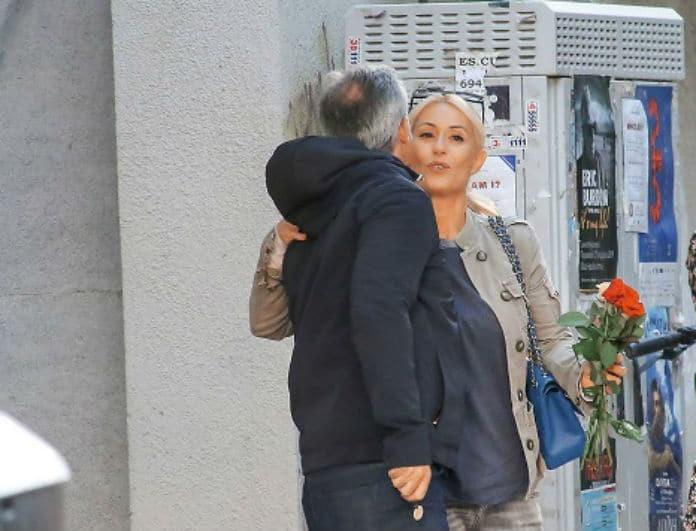 Μαρία Μπακοδήμου - Δημήτρης Αργυρόπουλος: Τρυφερά τετ α τετ του πρώην ζευγαριού! Τους
