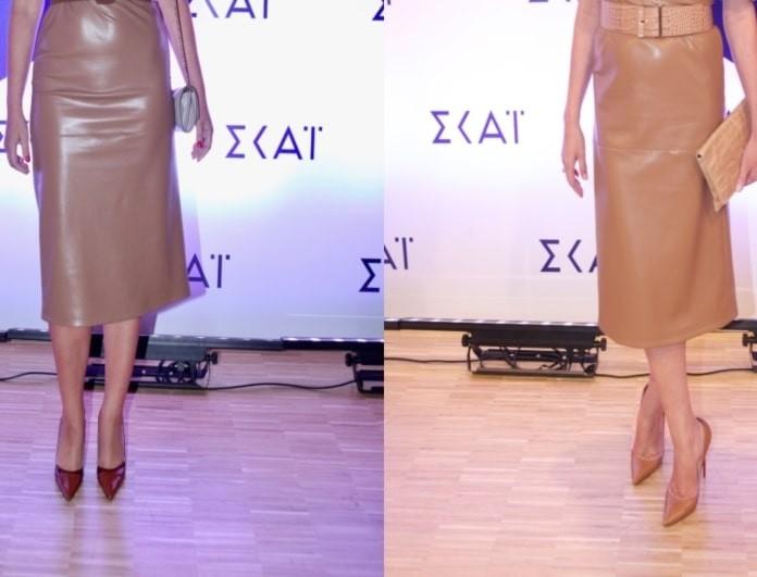 ΣΚΑΪ: Πασίγνωστες παρουσιάστριες εμφανίστηκαν με το ίδιο φόρεμα! Χαμός από τις φωτογραφίες!