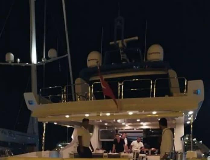 Ατζούν Ιλιτζαλί: Διακοπές με το υπερπολυτελές σκάφος του στην Ρόδο!