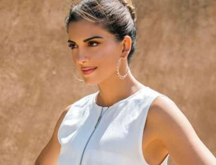 Σταματίνα Τσιμτσιλή: Η λεπτομέρεια στο λευκό φόρεμα της έκανε την διαφορά!