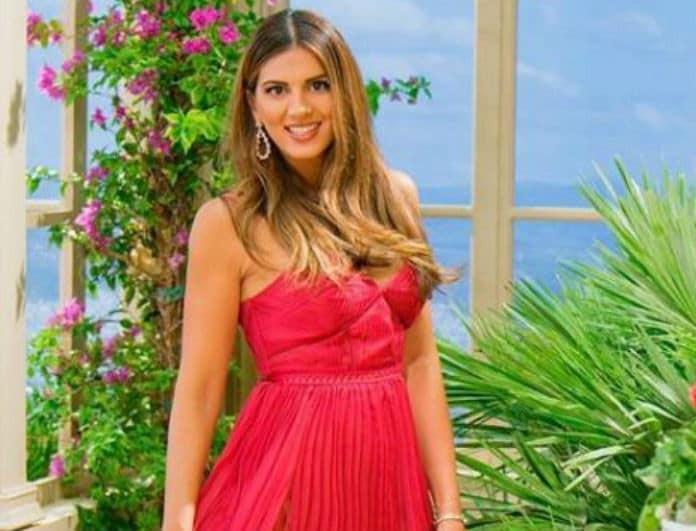 Σταματίνα Τσιμτσιλή: To ροζ πουκάμισο της με τα c-throu μανίκια είναι ότι καλύτερο έχουμε δει!