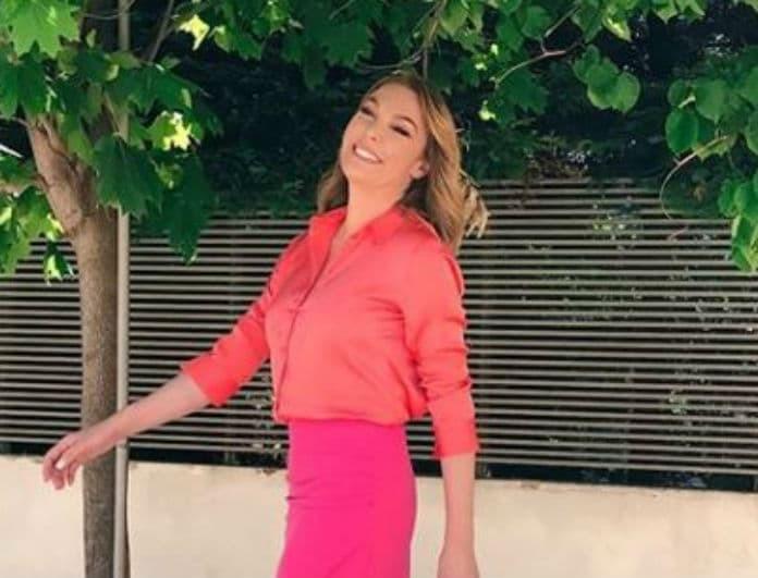Τατιάνα Στεφανίδου: Φόρεσε το πιο περίεργο χρώμα και έκανε ανεπανάληπτη εμφάνιση! Το φόρεμα κόστιζε 259 ευρώ!
