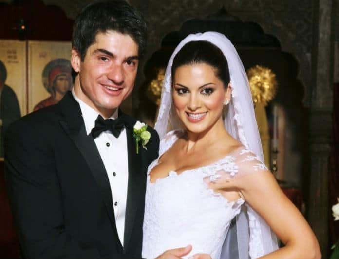 Σταματίνα Τσιμτσιλή: Με δύο νυφικά στον γάμο της! Θα τα φορούσατε σήμερα;