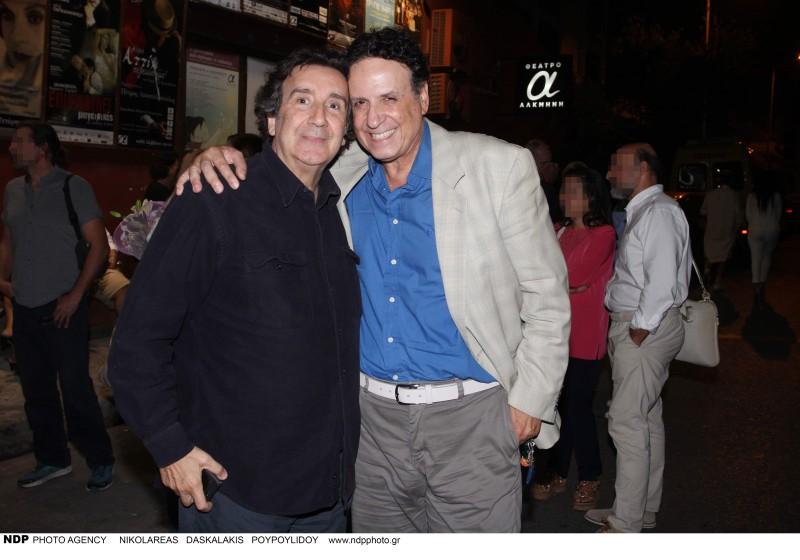 Χάρης Ρώμας: Στο πλευρό της τηλεοπτικής συζύγου του, Πενέλοπε Μαρκάτος,16 χρόνια μετά!