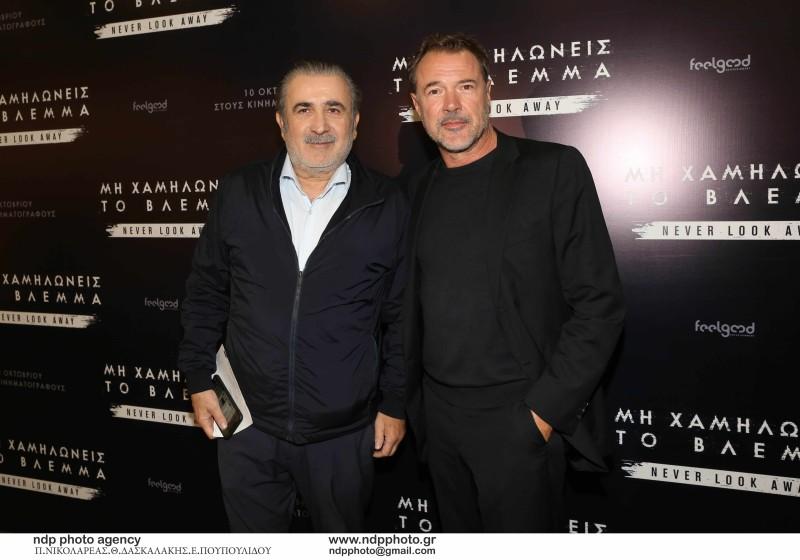 Λάκης Λαζόπουλος: Η πρώτη δημόσια εμφάνιση μετά τον θάνατο της συζύγου του!