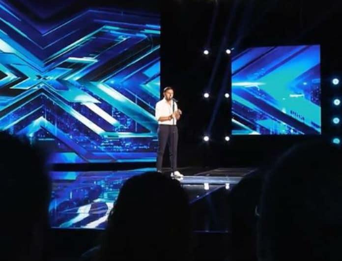 X-factor: Ανέβηκε στην σκηνή, τραγούδησε και τους
