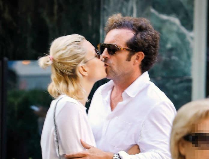 Βίκυ Καγία: Μια άλλη! Τα παθιασμένα φιλιά με τον άντρα της! Δεν είχε δει κανείς τους φωτογράφους...