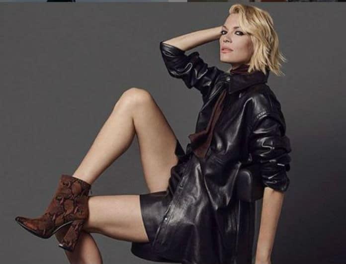 Βίκυ Καγιά: Αυτό το μποτάκι της λίγες το φορούν! Κοστίζει 65 ευρώ και «σαρώνει»!