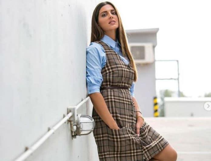 Σταματίνα Τσιμτσιλή: Με αυτό το μίνι φόρεμά της θα σε κοιτάνε όλοι! Που θα το βρεις και πόσο κοστίζει;