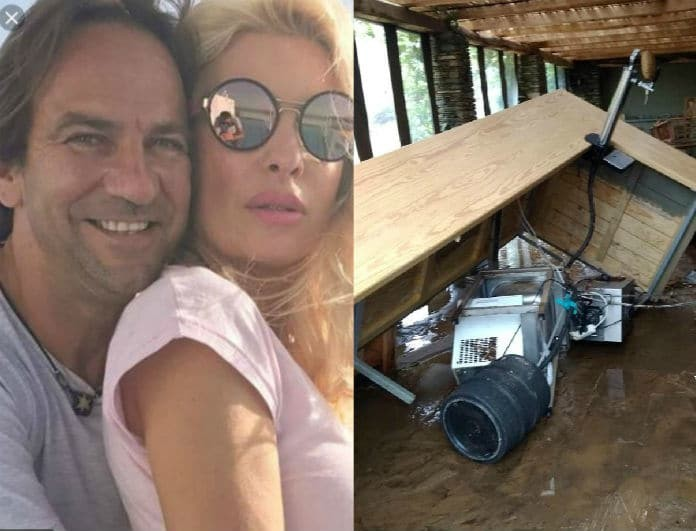 Ελένη Μενεγάκη - Ματέο Παντζόπουλος: Καταστράφηκε το ξενοδοχείο τους! Σοκαριστικές φωτογραφίες με ότι απέμεινε!