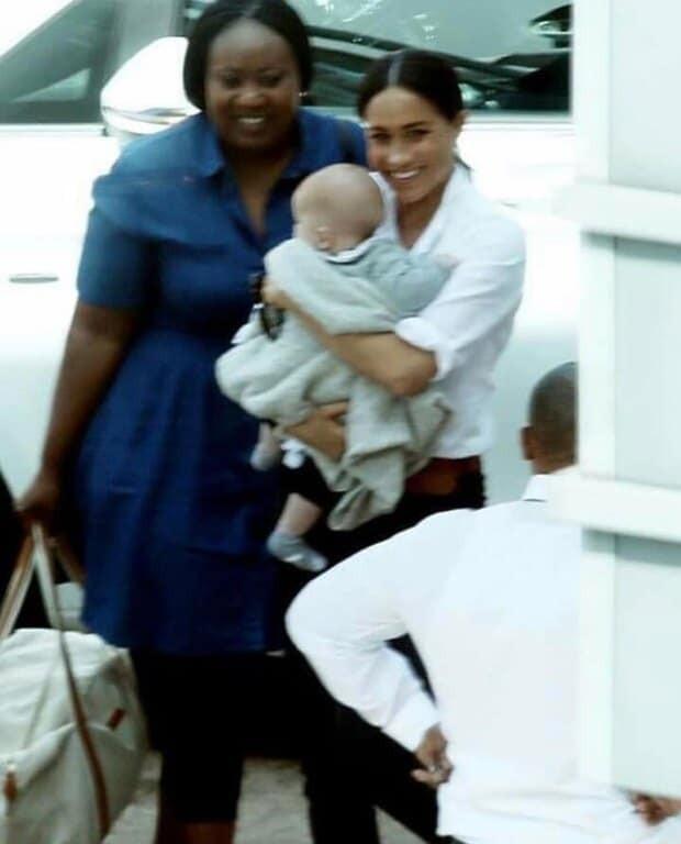 Πρίγκιπας Χάρι - Μέγκαν Μαρκλ: Δείτε για πρώτη φορά τον μικρό Άρτσι με την νταντά του!
