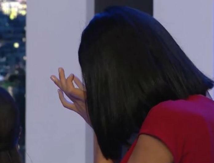 GNTM: Ξέσπασε σε κλάματα με τα σχόλια του Μπράτη - «Βλέπω τεράστια πόδια και περιφέρεια»! (Βίντεο)