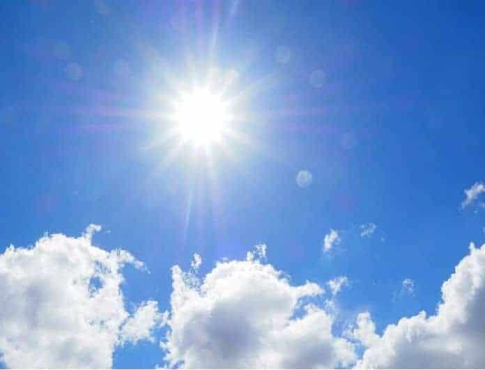 Καιρός: Αλλάζει σήμερα το σκηνικό! Υψηλές θερμοκρασίες και ήλιος!