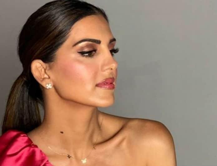 Σταματίνα Τσιμτσιλή: Φόρεσε στα χείλη της την πιο
