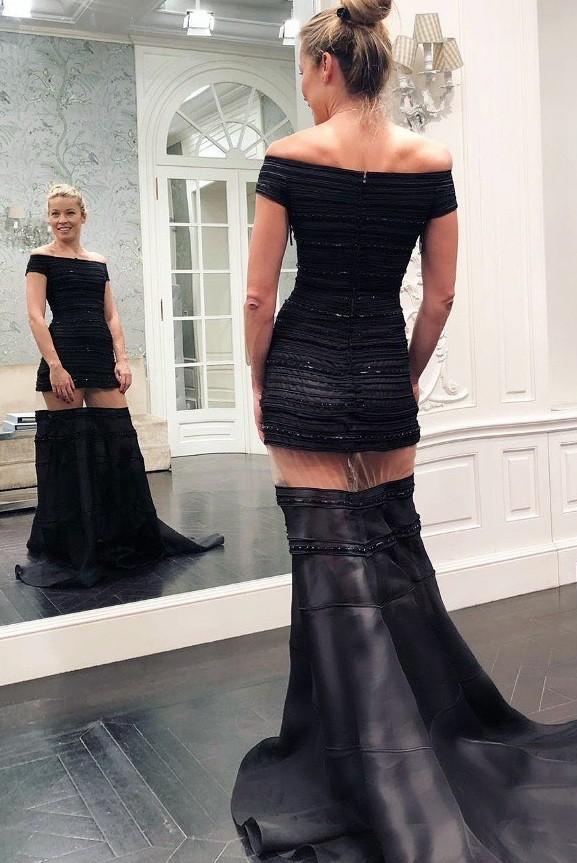 Μαριέττα Χρουσαλά: Με εντυπωσιακά και λαμπερά φορέματα στο ατελιέ της Σήλιας Κριθαριώτη!