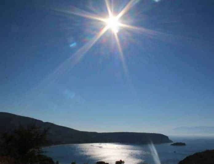 Καιρός σήμερα: Υψηλές θερμοκρασίες και ήλιος! Που θα φτάσει ο υδράργυρος;