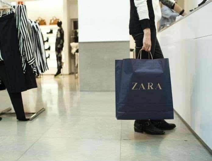 Zara: Ταραχή με αυτό το πράσινο παντελόνι σωλήνα από τη νέα συλλογή! Φόρεσέ το κι εκείνος δεν θα σταματήσει να σε κοιτάει...
