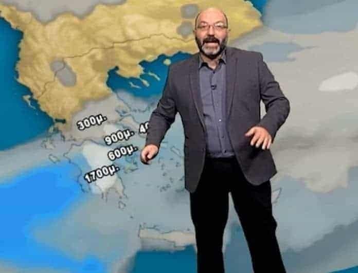 Ο Σάκης Αρναούτογλου προειδοποιεί: «Ο ισχυρότερος τυφώνας όλων των εποχών πλησιάζει την...»!