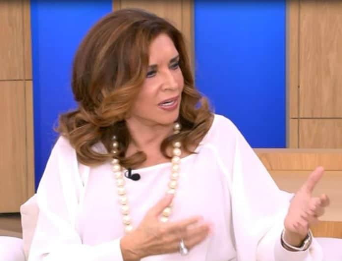 Μιμή Ντενίση: Ξέσπασε στον αέρα εκπομπής για τους καναλάρχες! Τι συνέβη;