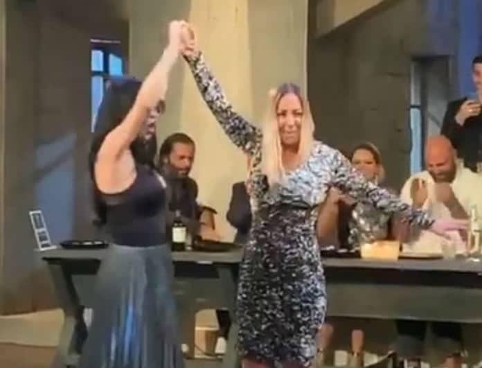 """""""Φωτιά"""" το τσιφτετέλι Πάολας και Μελίνας Ασλανίδου! Βίντεο ντοκουμέντο!"""