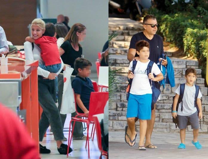 Φαίη Σκορδά - Γιώργος Λιάγκας: Μοιράστηκαν τα παιδιά το Σαββατοκύριακο! Αδημοσίευτο υλικό για πρώτη φορά στο φως!