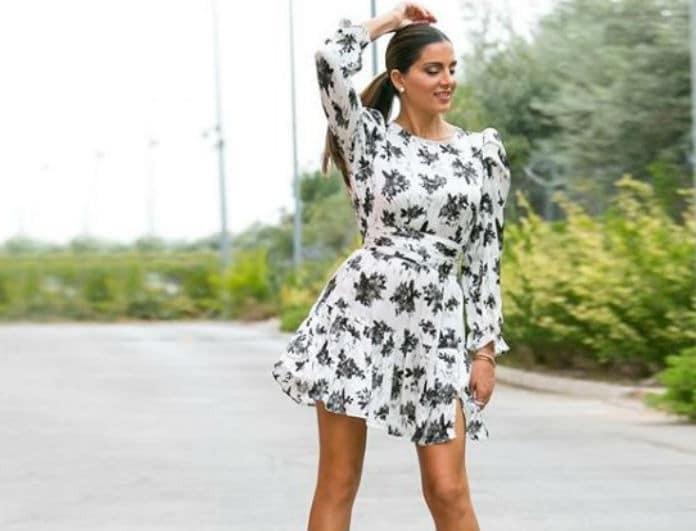 Σταματίνα Τσιμτσιλή: Κάνουν ουρές για να πάρουν την φούστα που φόρεσε! Είναι μακριά και γκρι...