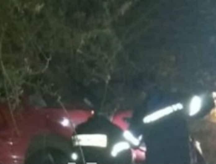 Θρήνος: Καρφώθηκε σε δέντρα με το αυτοκίνητο του και βρήκε τον θάνατο!