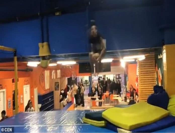 Βίντεο σοκ: Έσπασε το λαιμό του σε άλμα με τριπλή κωλοτούμπα!