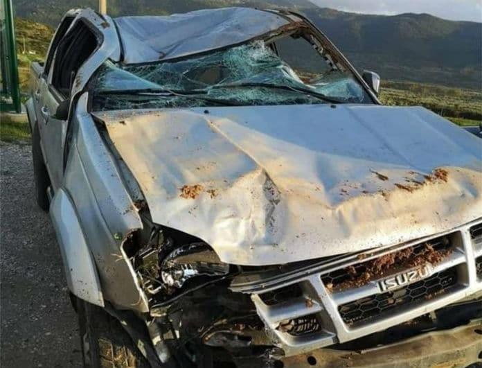 Άγγελος Αναστασιάδης: Σοβαρό τροχαίο για τον διεθνή ποδοσφαιριστή! Διαλυμένο το αγροτικό του!