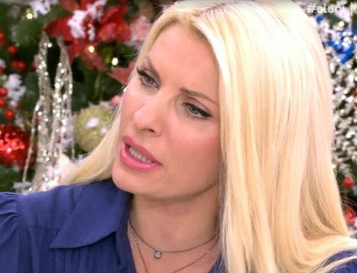 Ελένη: Έδειξε στον αέρα το μήνυμα που αφορούσε μόνο την... ίδια! Έμεινε έκπληκτη!