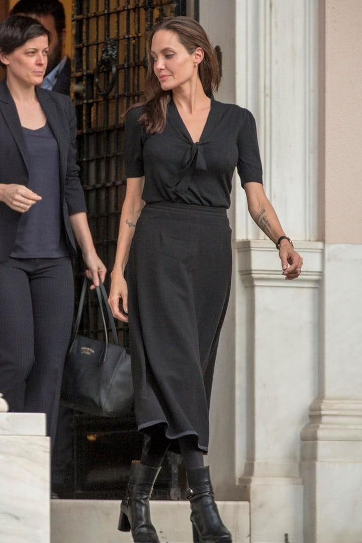 Angelina Jolie σχέση
