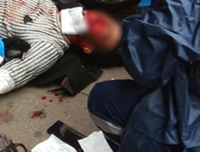 Μαχαίρωσαν άνδρα στο κέντρο της Θεσσαλονίκης! Σκληρές εικόνες!