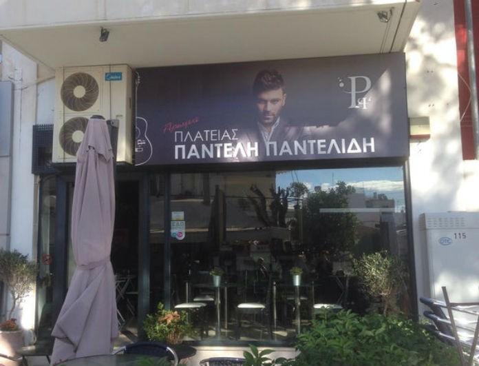 Παντελής Παντελίδης: «Πνίγηκε» από κόσμο το μαγαζί του τραγουδιστή! Ανατριχιαστική η φωτογραφία του στον τοίχο...